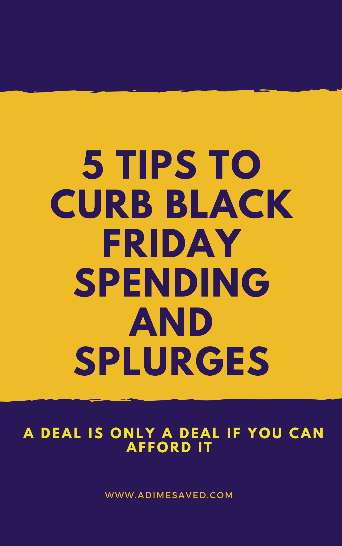5 tips to curb black friday spending