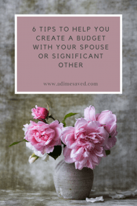 How Budgeting Saved my Marriage