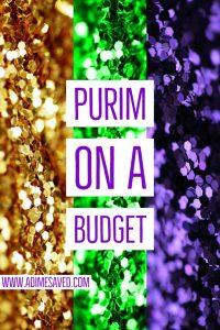 Purim on a Budget