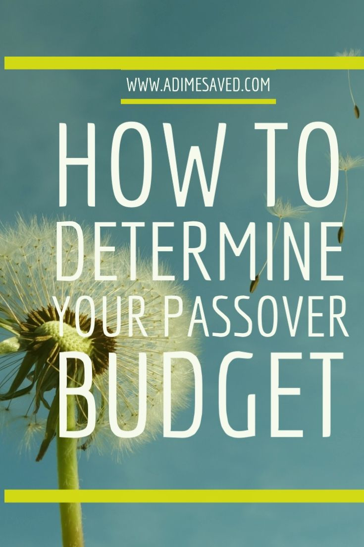 Passover with debt