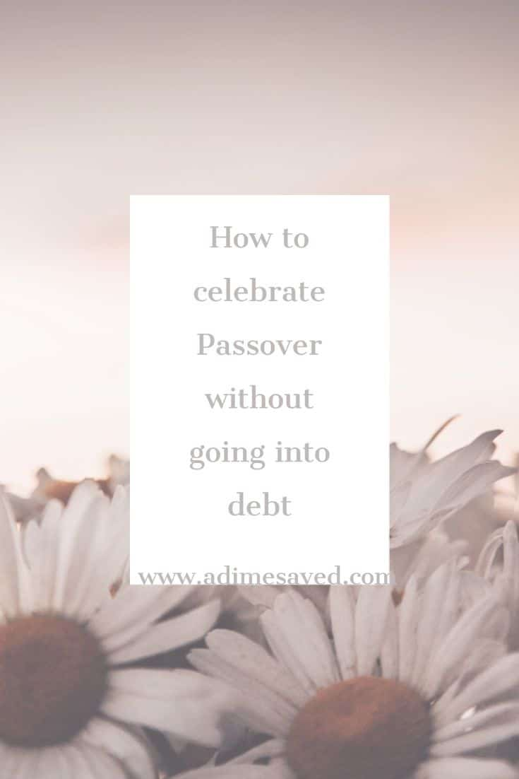 Passover without debt