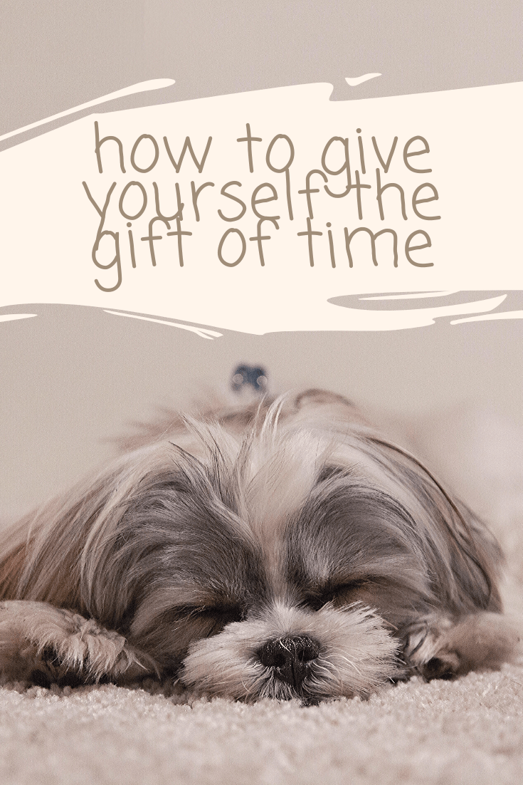 Gift of Time Pinterest