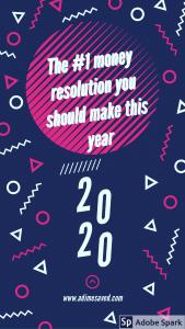 #1 New years Resolution