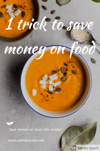 1 trick to save money on food. stretch a meal