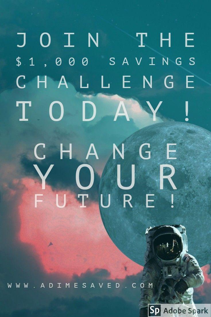 Join the 1000 Savings Challenge 1