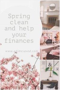 Spring Clean. Save Money. Pinterest