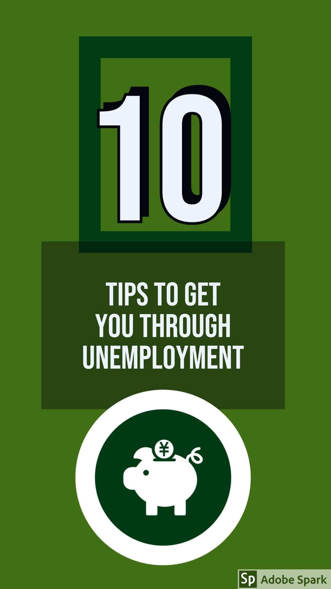 10 ways to survive unemployment