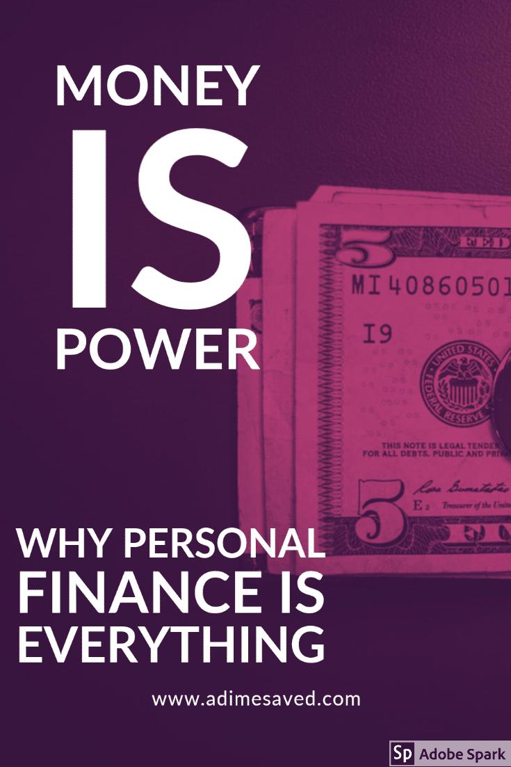money is power