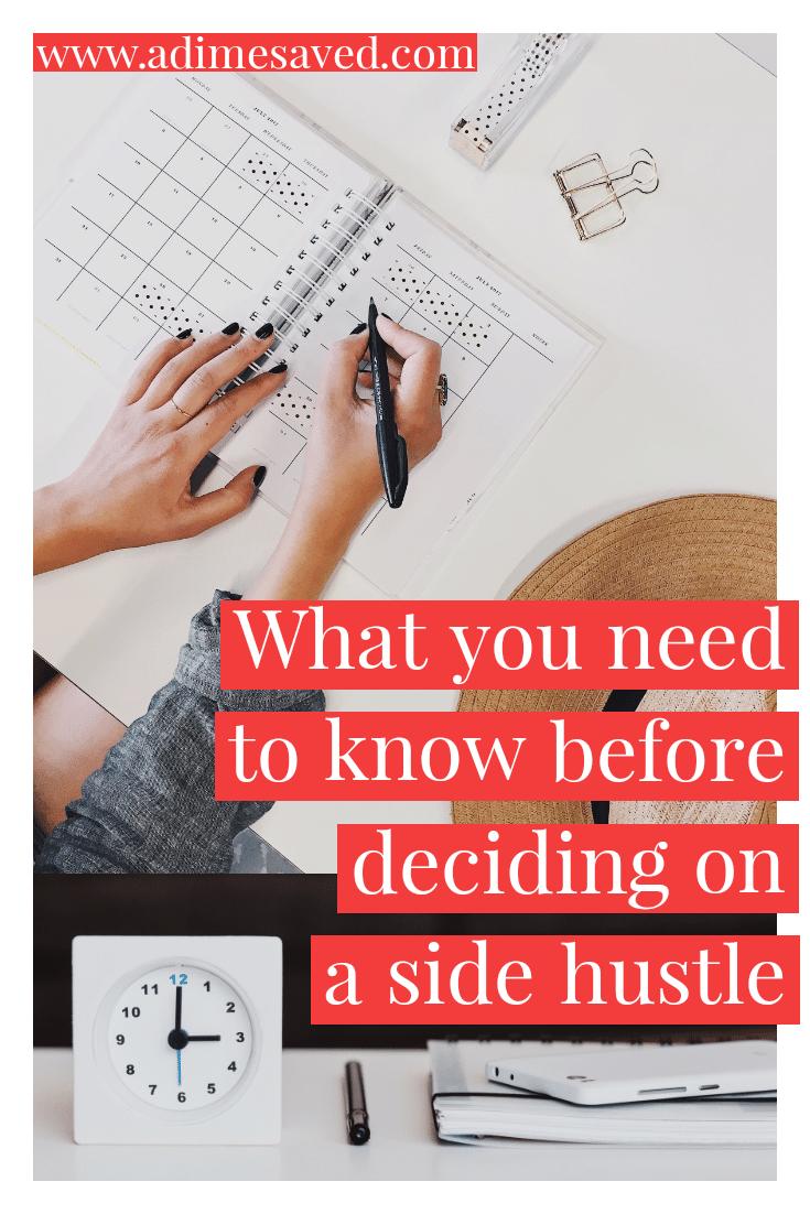 Side Hustle Pin