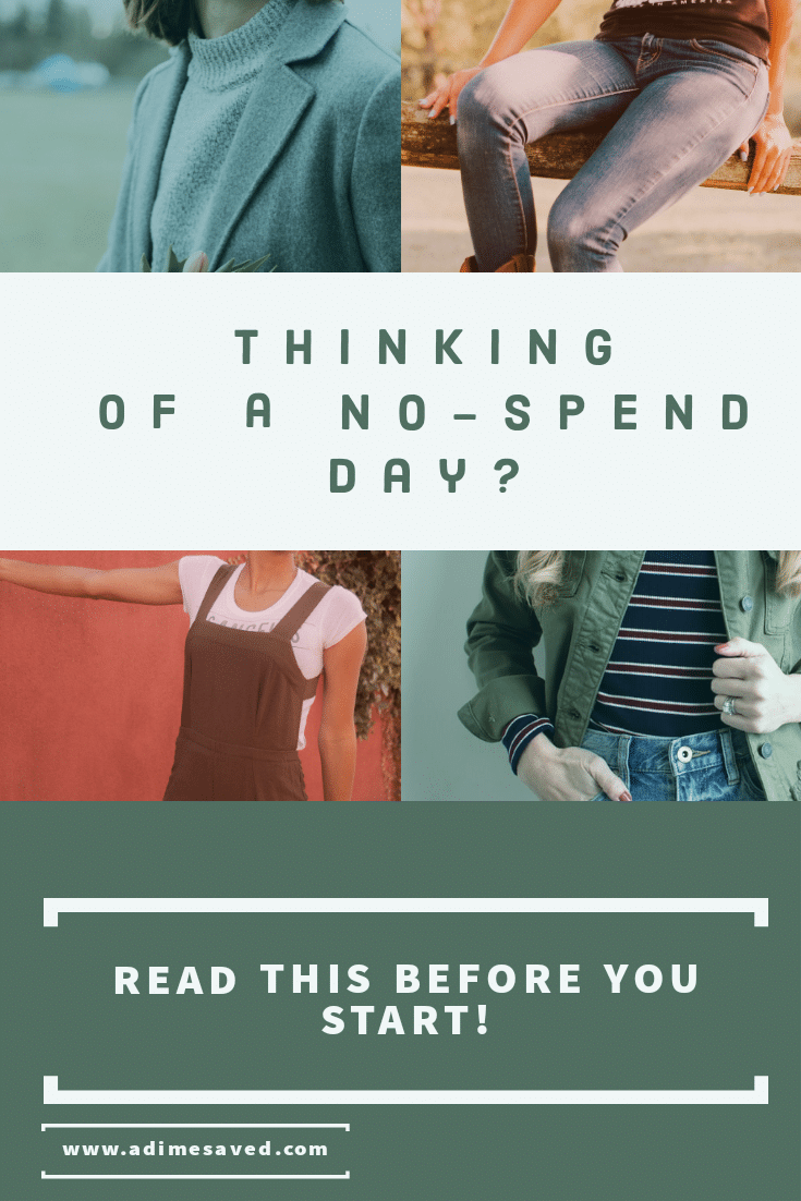Thinking of a no-spend day?