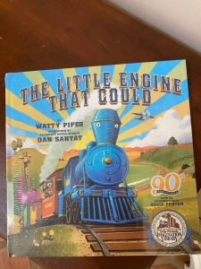 The Little Engine that Could that we got for free!