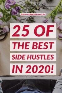 best side hustles in 2020