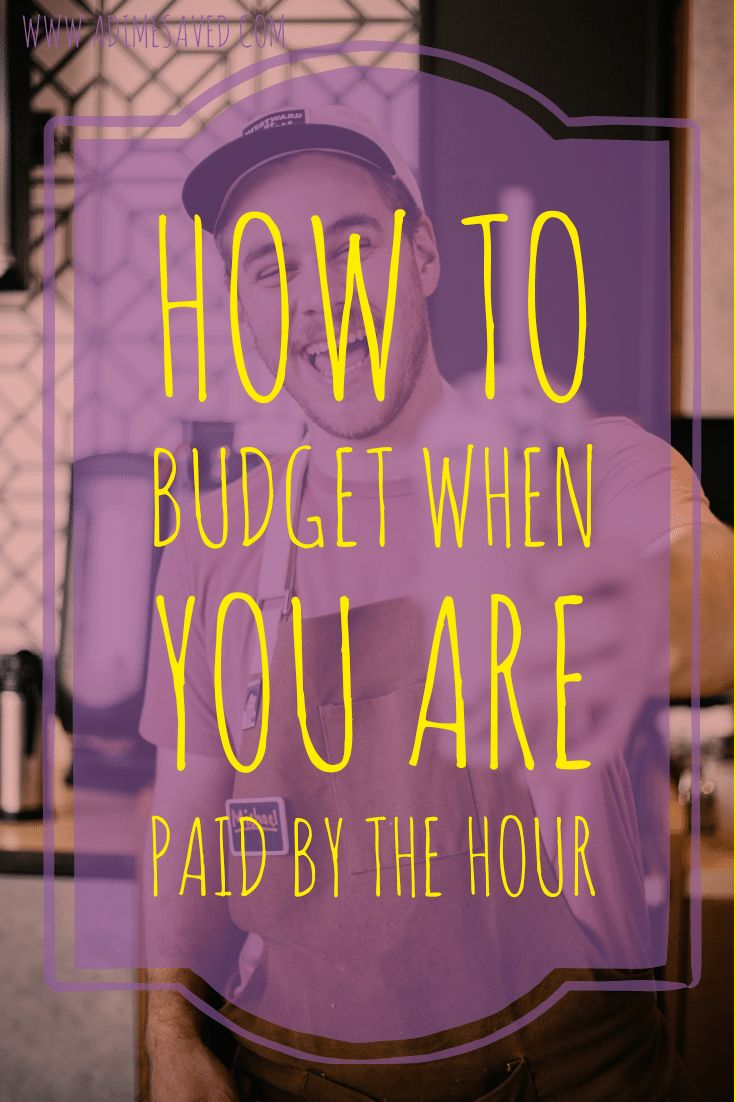 How to budget when you are paid by the hour
