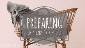 preparing for a baby on a budget
