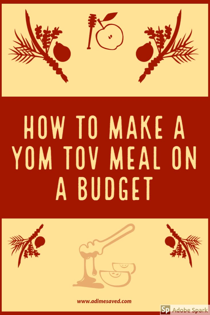 How to make a Yom Tov Meal on a Budget Pin