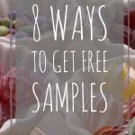 8 ways to get free samples
