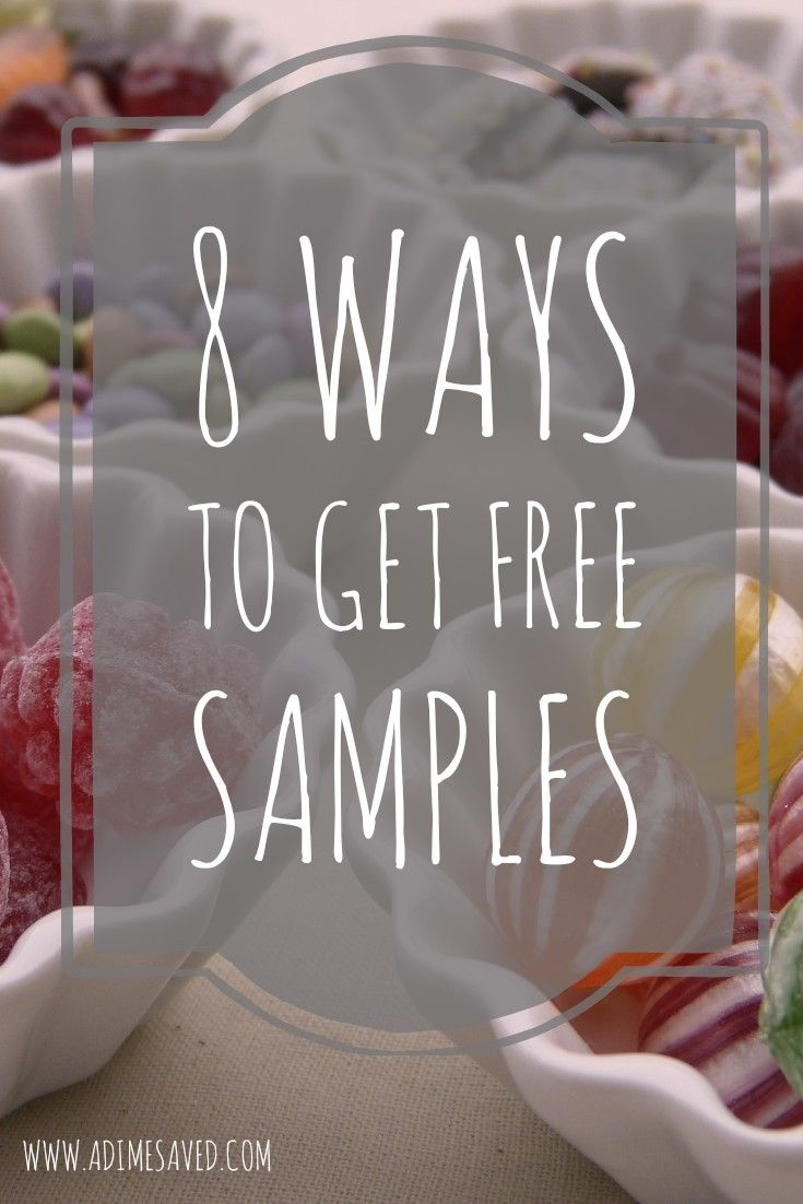 8 ways to get free samples