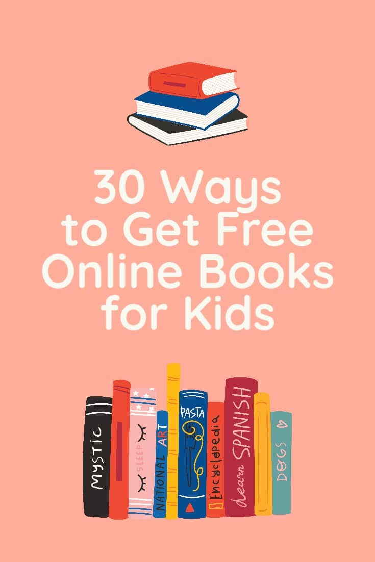 Free Books Online for Kids Pin