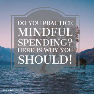 Mindful Spending Image