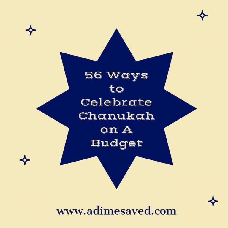 Chanukah on a Budget