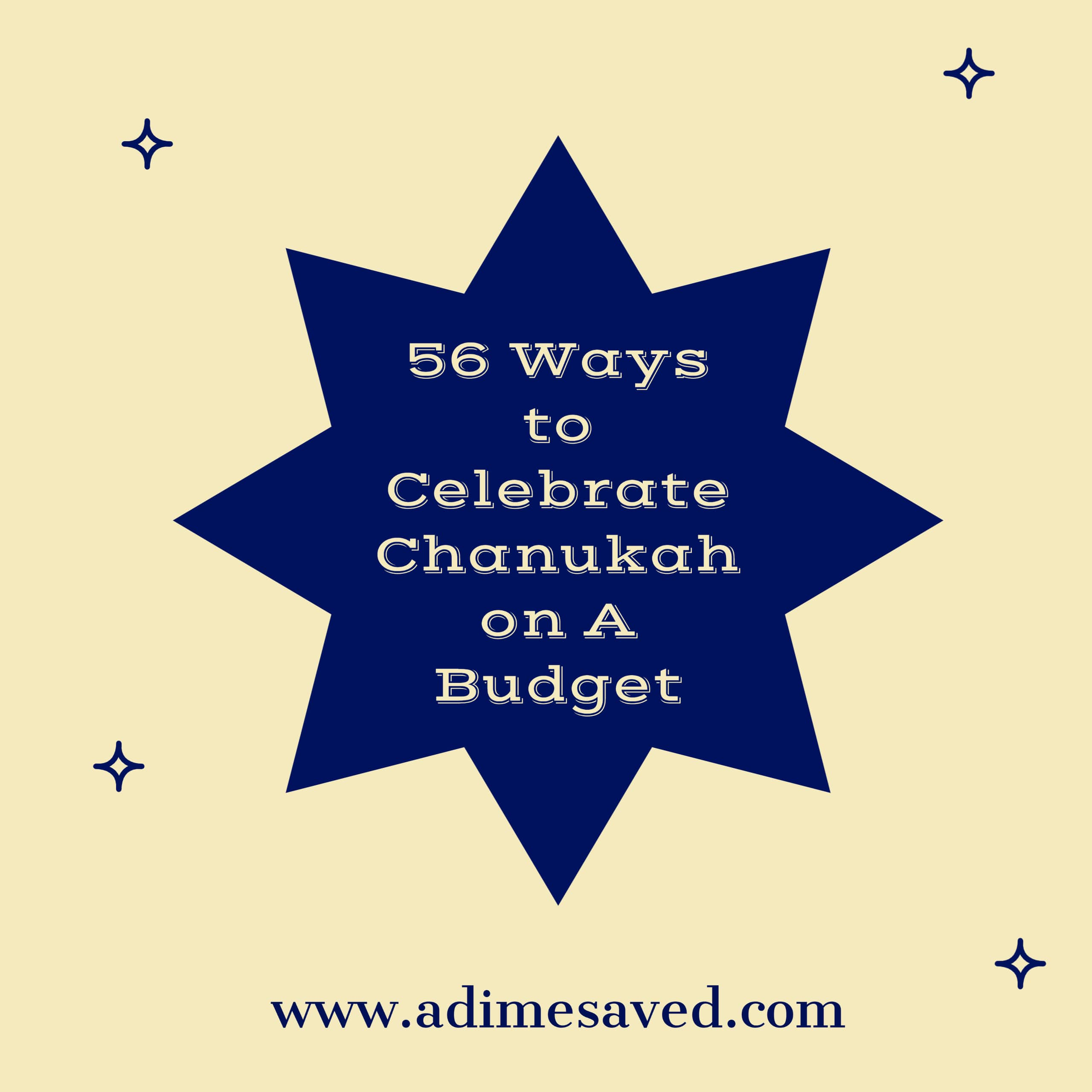 Chanukah on a Budget