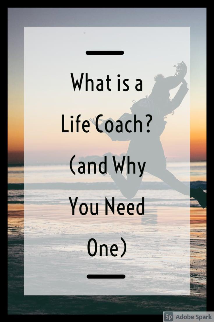 life coach pin