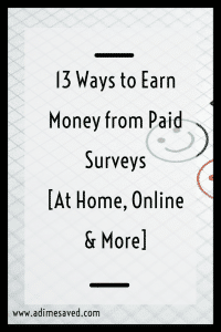 13 Ways to Earn Money from Paid Surveys At Home Online More