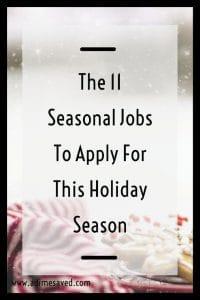 The 11 Seasonal Jobs To Apply For This Holiday Season