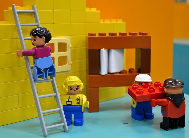 investing with lego