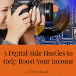 3 Digital Side Hustles to Help Boost Your Income Pin