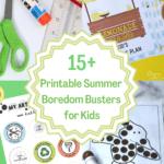 15 printable summer boredom buster for kids
