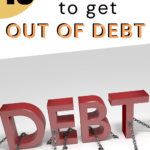 13 Ways to get out of debt