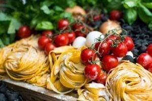 Cherry Tomato and Basil Pasta